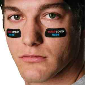 Eyeblack custom adhesive
