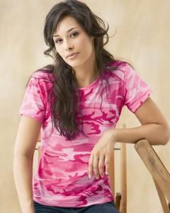Pink camo shirt 3665