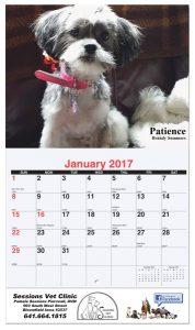 Custom 13 photo wall calendar