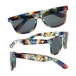 Tie dye sunglasses Item 8878